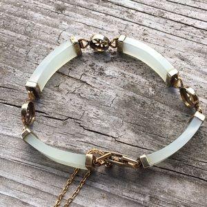 Vintage jade bracelet